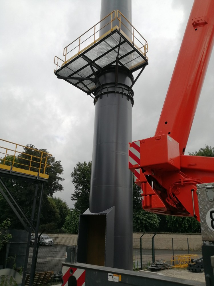 Dedusting filter - 185 000 M3/h.
