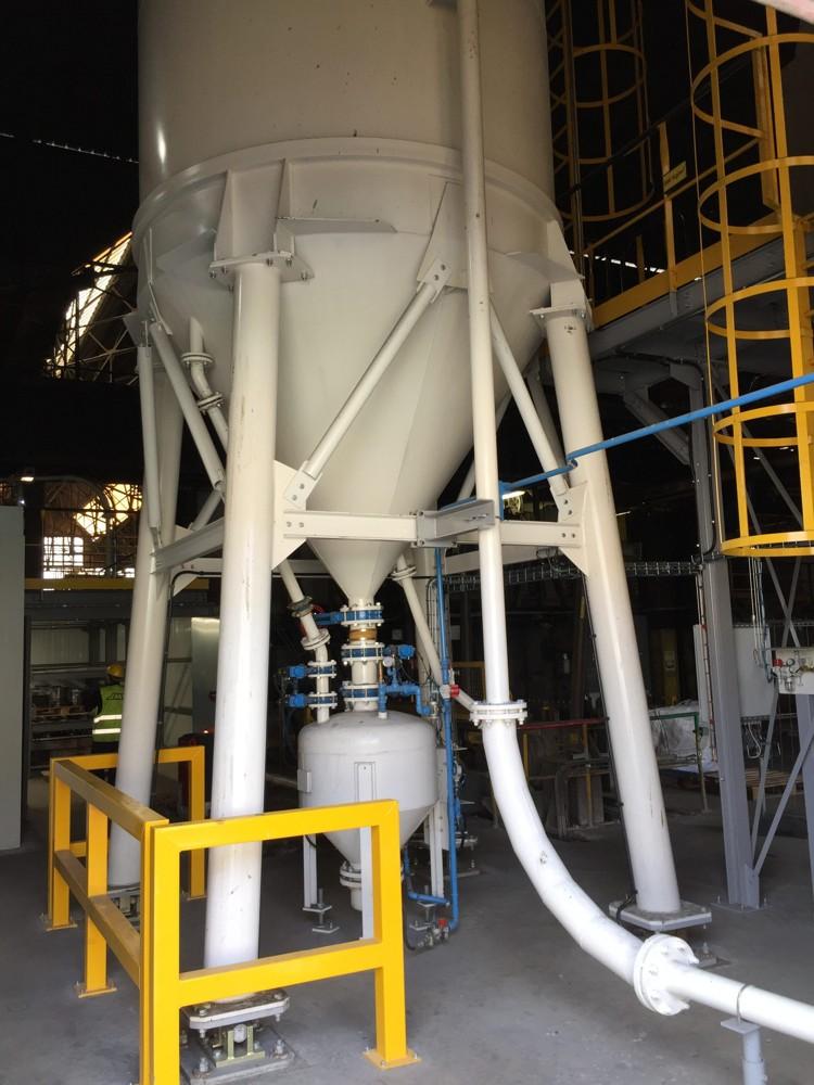 core making equipment sand management pneumatic conveyor