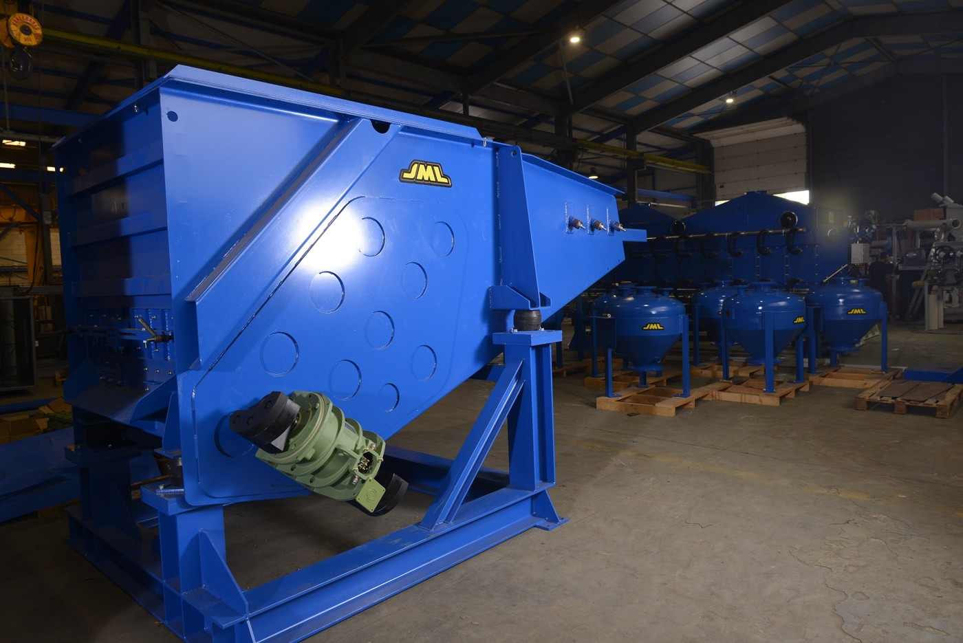 sand crusher foundry equipment environment