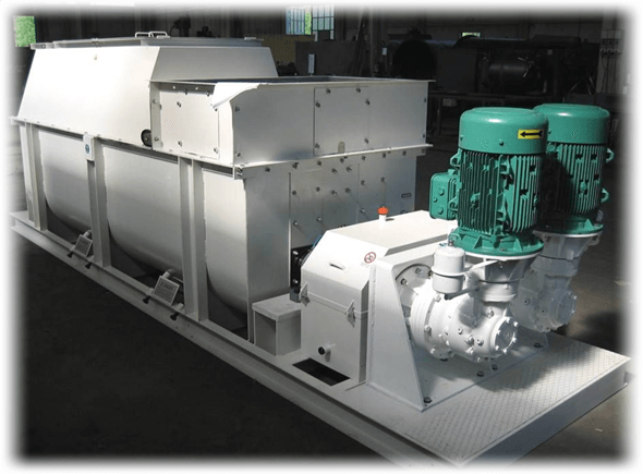 Pre-mixer homogenizer