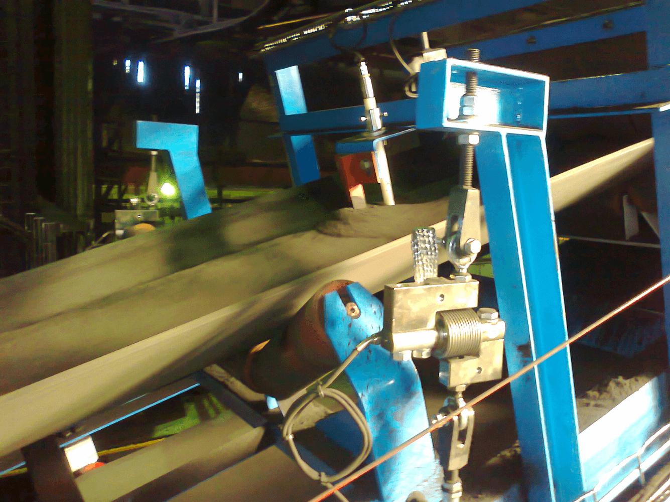 Automatic sand adjustment of return circuits