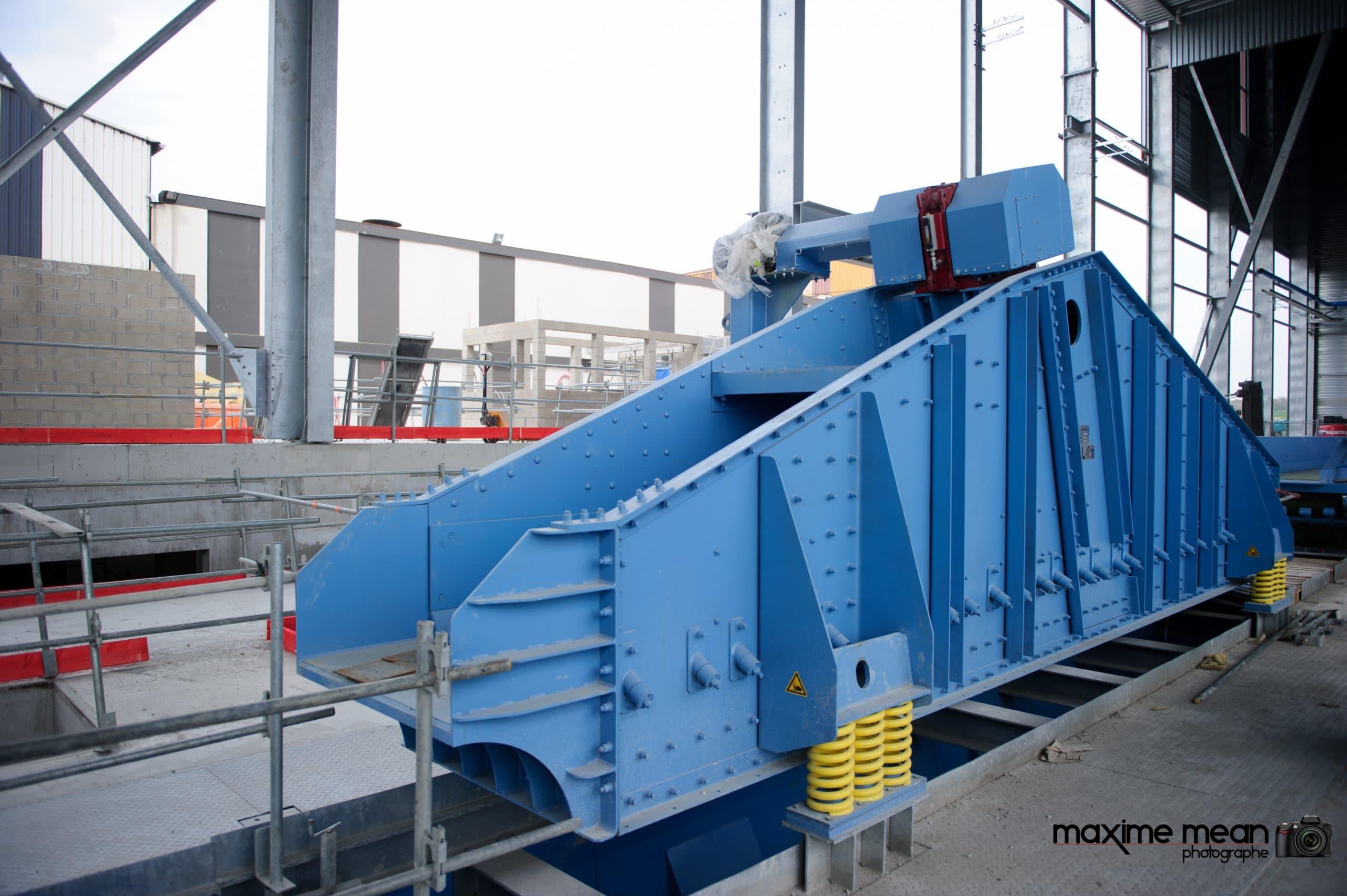 JML Industrie Le Creuset équipements vibrants