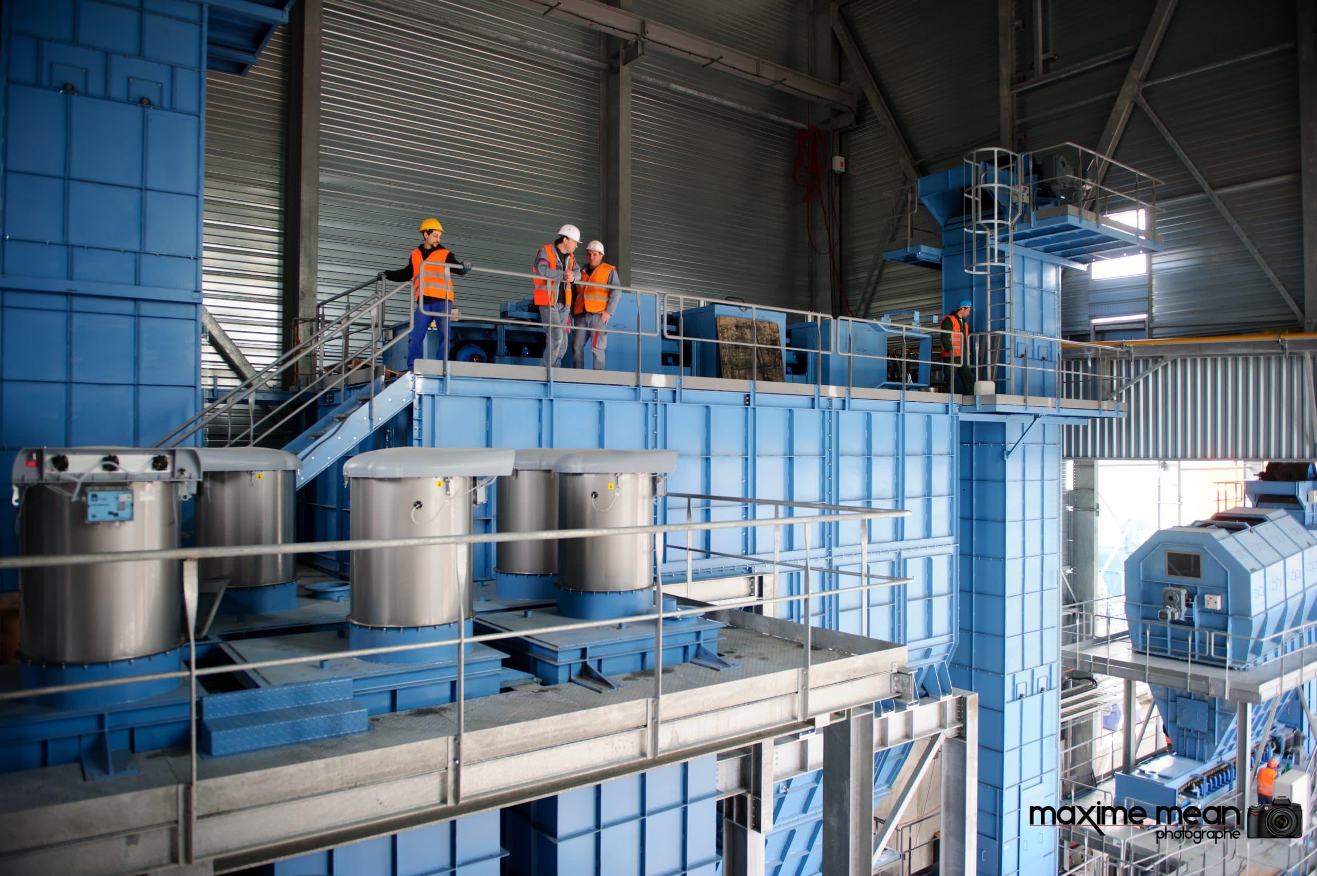 JML Industrie Le Creuset Réunion de contrôle