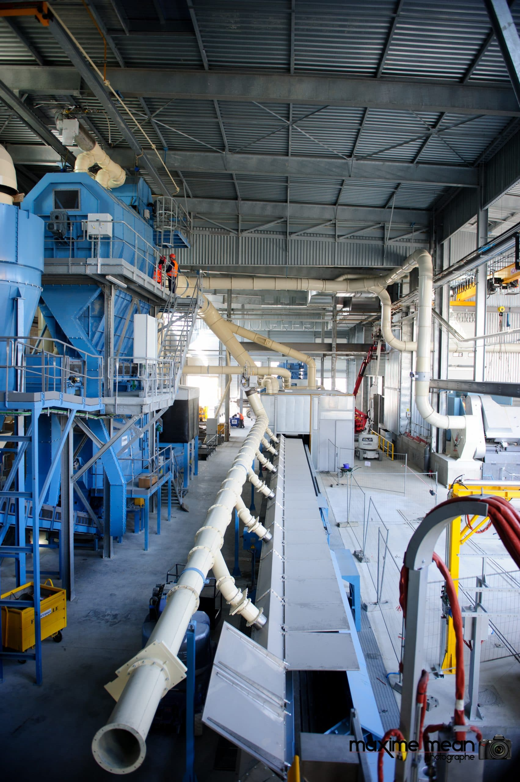 JML Industrie Le Creuset Montage de la tuyauterie